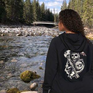 Sons of Anarchy black hoodie. 3X